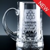 Inverness Crystal Premier Panelled 1 Pint Tankard, Blue Boxed, Single