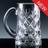Inverness Crystal Traditional Fully Cut 1 Pint Tankard, Blue Boxed, Single